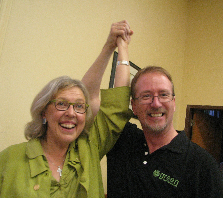 Elizabeth May & David Weber