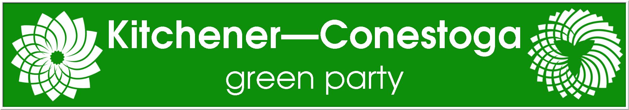 Kitchener-ConestogaGreenParty