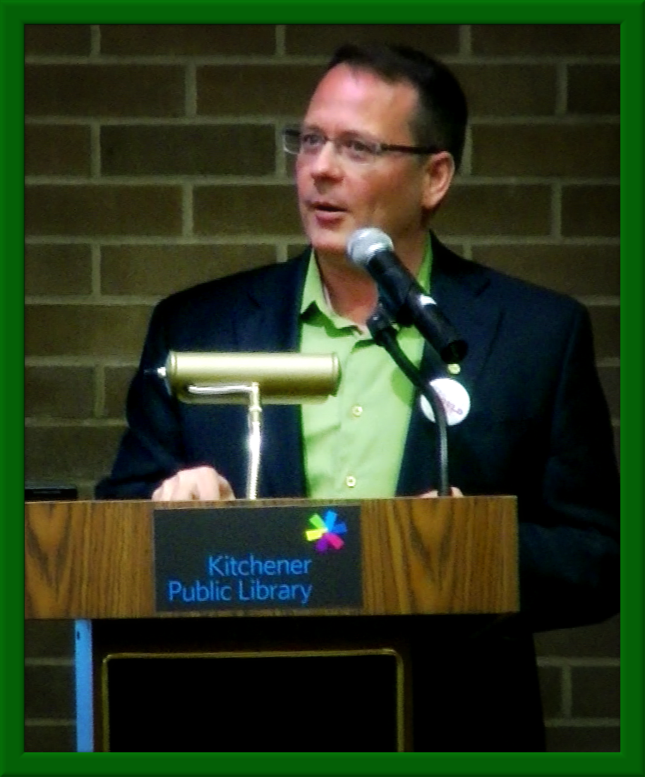 Mike Schreiner, Leader of the Green Party of Ontario