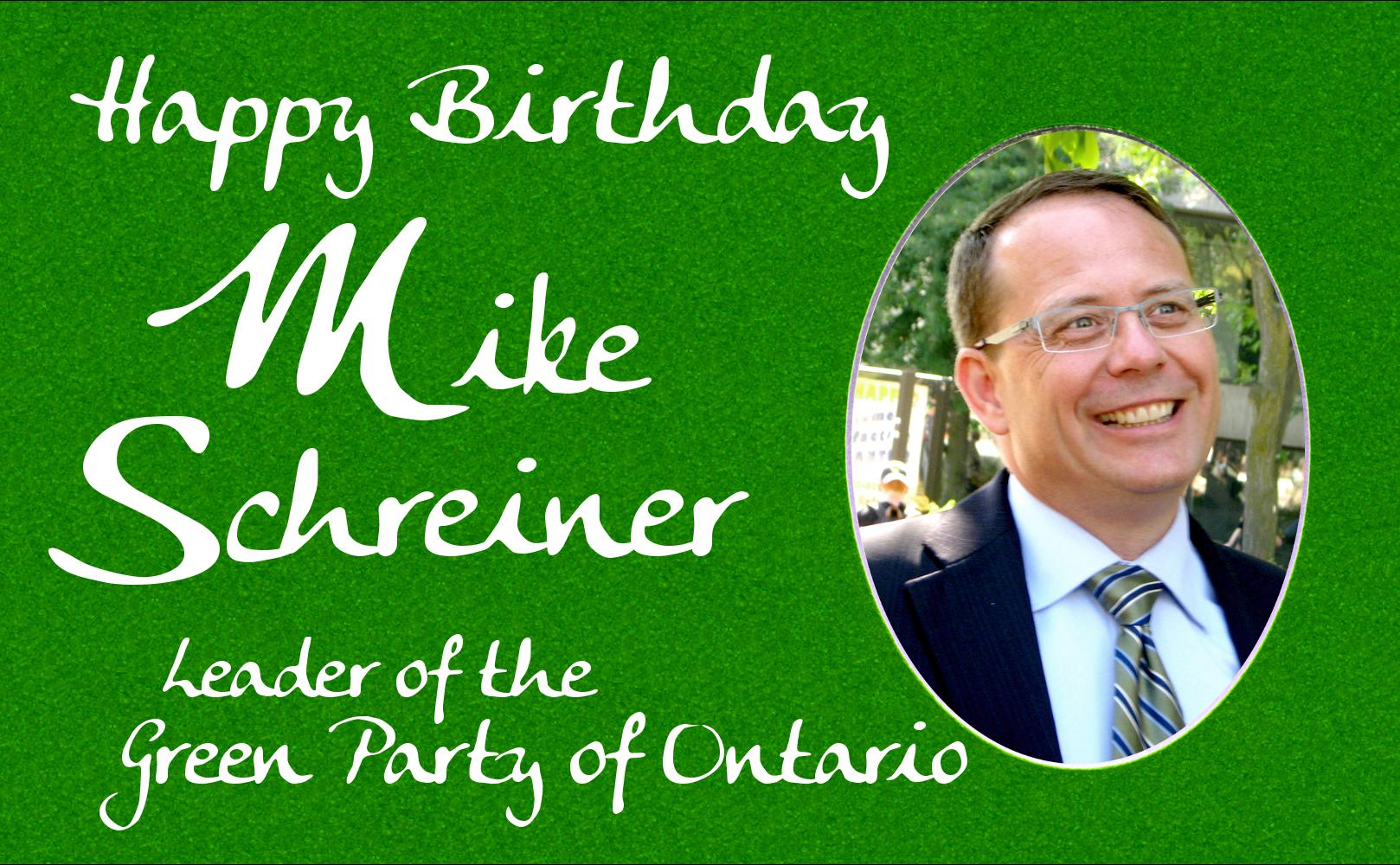 Happy Birthday Mike!