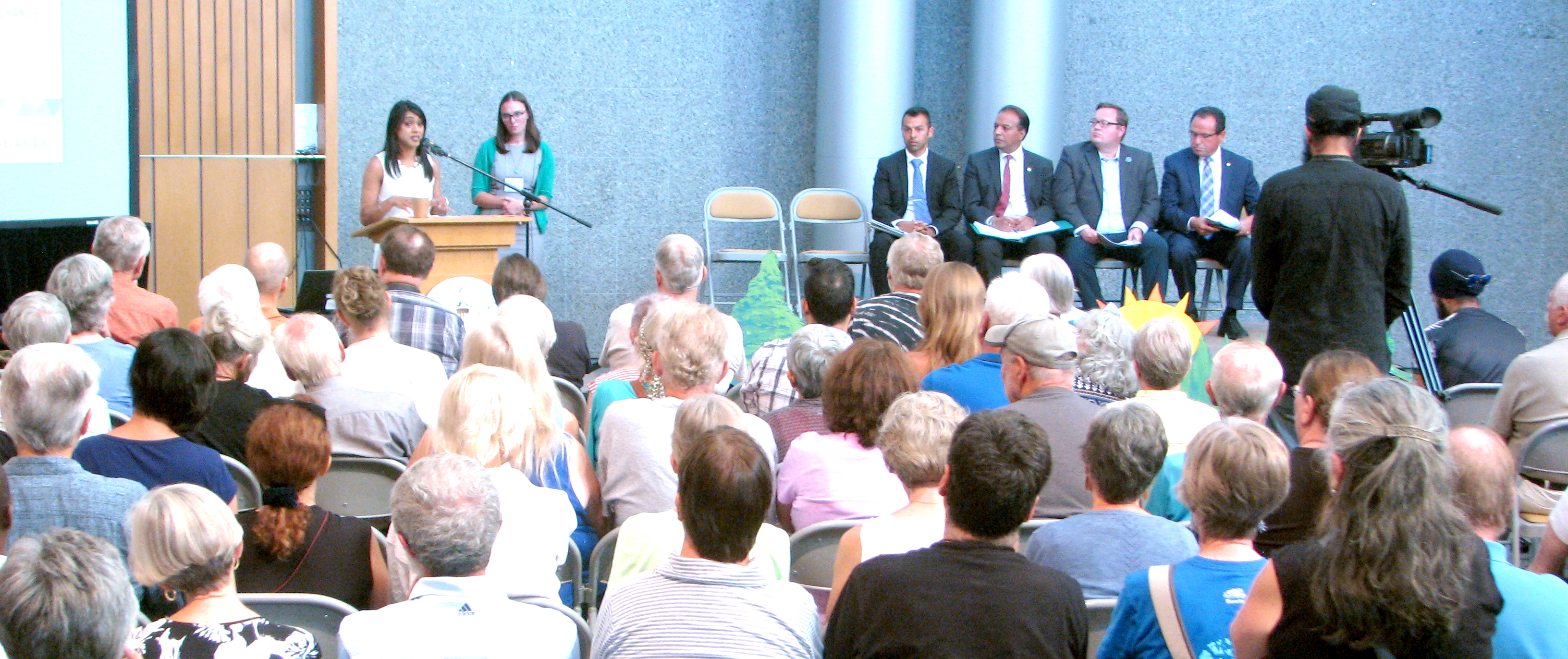 All 5 Waterloo Region MPs attended the Climate Change Town Hall