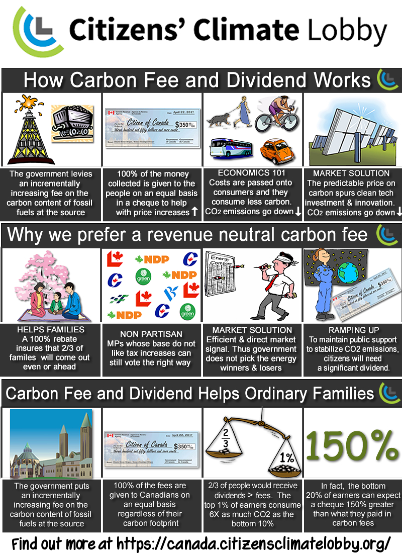 CCL Fee and Dividend infographic