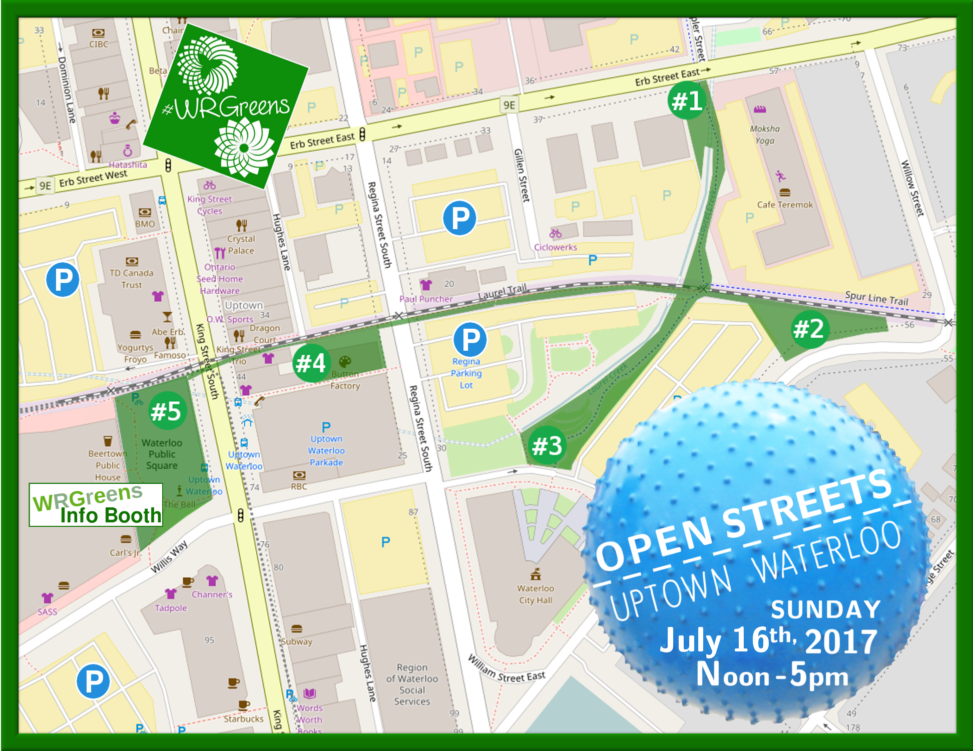 Open Streets Waterloo