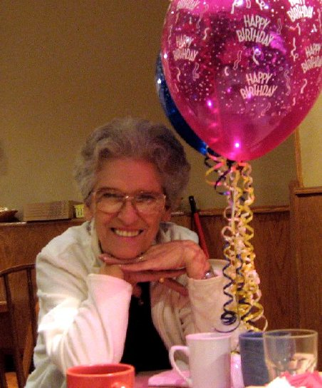 Shirley at her 60th Birthday